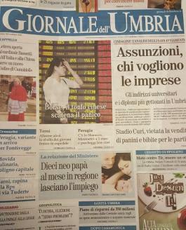 Il Giornale dell'Umbria – 25 Agosto 2015