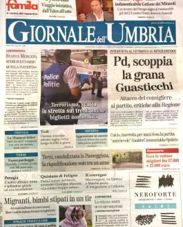 Giornale dell'Umbria – 30 agosto 2015